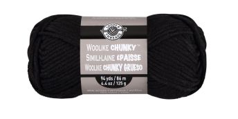 Woolike Chunky Black